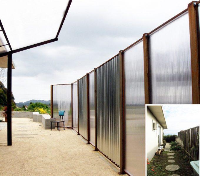 Gard din policarbonat
