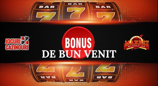 bonus la inregistrare pe Maxbet Casino