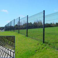 Gard din plasa impletita