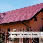 Tabla tip țiglă metalică  – cea mai bună alegere privind materialele de acoperiș